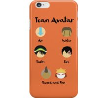 Team Avatar iPhone Case/Skin
