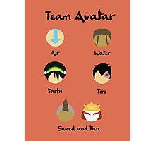 Team Avatar Photographic Print