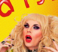 Russian Bisexual Transvestite Hooker Sticker