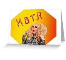 Russian Bisexual Transvestite Hooker Greeting Card