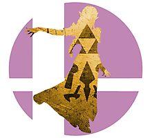 Sm4sh - Zelda Photographic Print