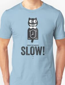Cinema Obscura Series - Back to the future - Cat Clock T-Shirt