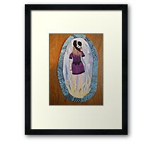Picture of a Girl Framed Print