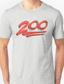 Keep it 200 ! 100 emoji T-Shirt