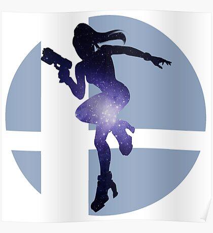 Sm4sh - Zero Suit Samus Poster
