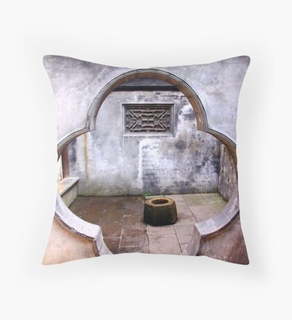 千灯古镇 - Qian Deng Old Town Throw Pillow