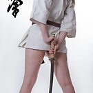 Karate girl by Aleksandar Topalovic