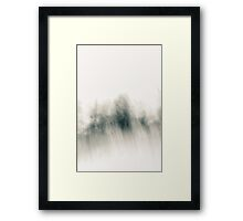 The Vagueness of Winter Framed Print