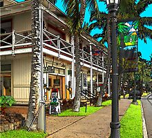 Kailua Village - Kona Hawaii by James Eddy