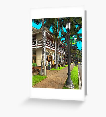 Kailua Village - Kona Hawaii Greeting Card