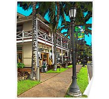 Kailua Village - Kona Hawaii Poster