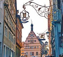 Rothenburg ob der Tauber by David Davies
