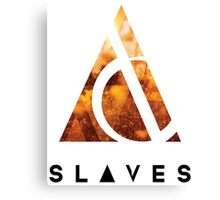 Slaves (US band) Triangle Canvas Print