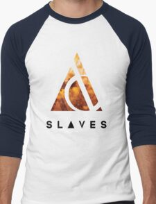 Slaves (US band) Triangle Men's Baseball ¾ T-Shirt