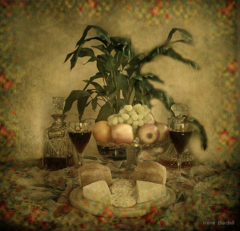 Light Lunch. by Irene  Burdell