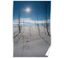 Warming Sun Poster