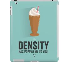 Cinema Obscura Series - Back to the future - Density iPad Case/Skin