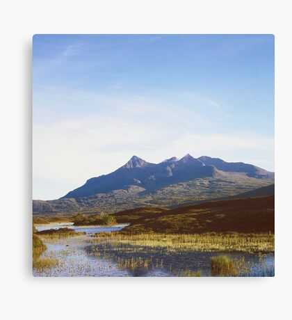 The Cuillin Hills on the Isle of Skye Canvas Print