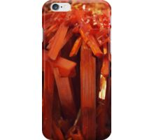 The Hidden Land - Red Forest iPhone Case/Skin