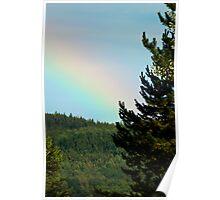 Rainbow Sky - Ottobeuren, Germany Poster
