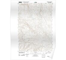 USGS Topo Map Oregon Baker Point 20110907 TM Poster