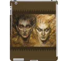 Melkor and Sauron iPad Case/Skin