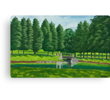 The Willow Path Canvas Print