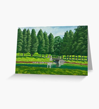 The Willow Path Greeting Card
