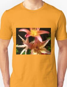 Pink and Yellow Lilies T-Shirt