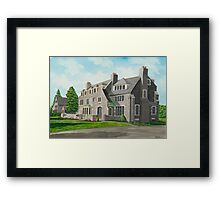 Kappa Delta Rho South View Framed Print