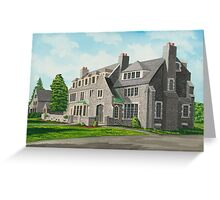 Kappa Delta Rho South View Greeting Card