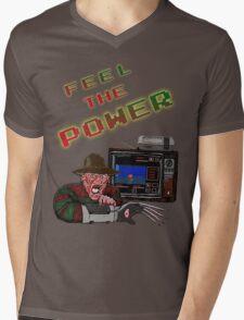 Freddy Power Glove! (FeeL The Power) Mens V-Neck T-Shirt