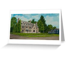 Kappa Delta Rho North View Greeting Card