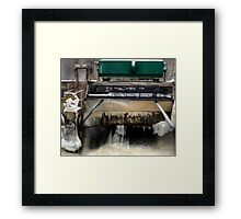 Wisconsin Winter Power Framed Print