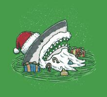 The Santa Shark Baby Tee