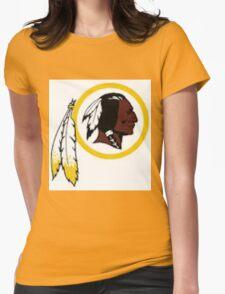 Washington Redskins Womens Fitted T-Shirt