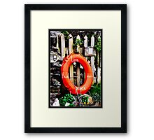 Love Peace heal Framed Print