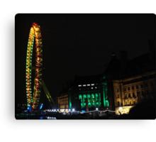 Amazing London - LONDON EYE 31st December 2010 # 2 - (UK) Canvas Print