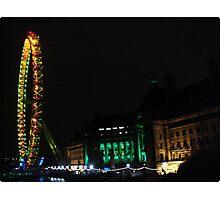 Amazing London - LONDON EYE 31st December 2010 # 2 - (UK) Photographic Print
