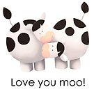Love you moo! by Koekelijn