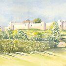 Le Chateau, Villebois Lavalette, France by FranEvans