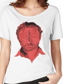 Rick Grimes Dont Open Dead inside Women's Relaxed Fit T-Shirt