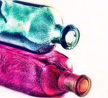 Colorfull bottles by nefetiti