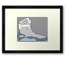 Nike Air Mag Framed Print
