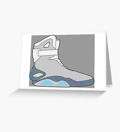 Nike Air Mag Greeting Card