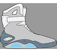 Nike Air Mag Photographic Print