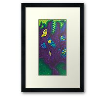 Monsters On My Mind Framed Print