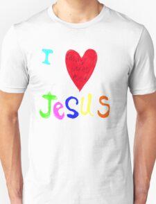 I Love Jesus,..Jesus Loves Me..tee Unisex T-Shirt