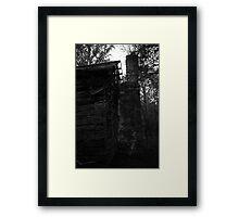 The Dark Side of Orange County III Framed Print
