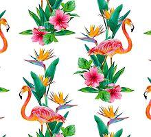 Flamingo Paradise Garden by ramarama